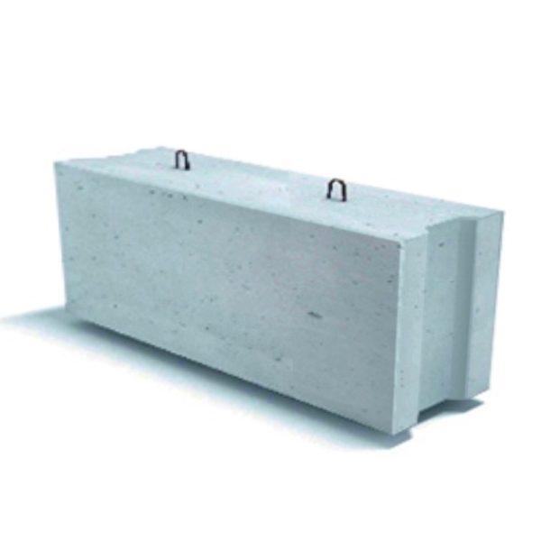 Фундаментный стеновой блок 2400 мм