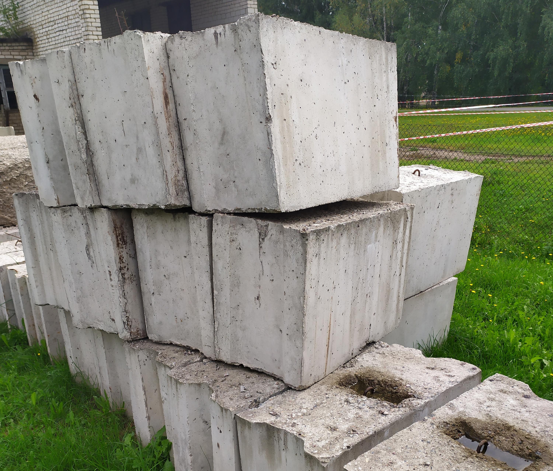 Купить блоки из бетона бу смеси бетонные f150